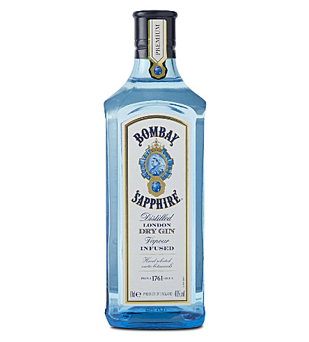 BOMBAY SAPHIRE London dry gin 700ml