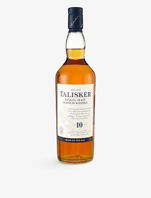 TALISKER Talisker 10 year old single malt whisky