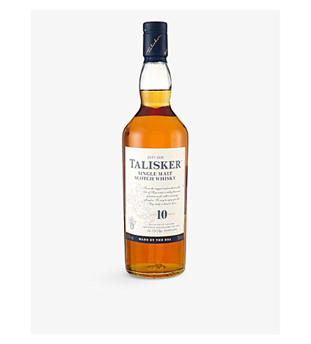 TALISKER Talisker 10 year old single malt whisky