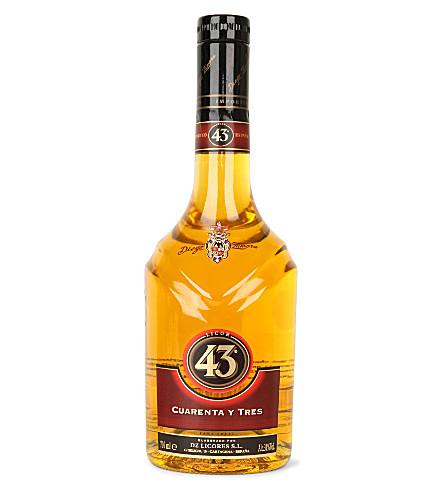 APERITIF & DIGESTIF Cuarenta Y Tres liqueur 700ml