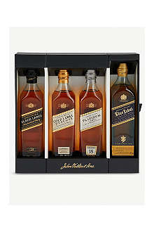 JOHNNIE WALKER Four whiskey collection 200ml