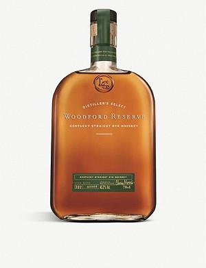WOODFORD Kentucky straight rye whiskey 700ml