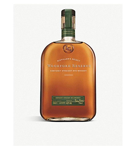 WOODFORD Kentucky straight rye whiskey 700ml