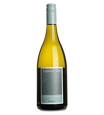 NEW ZEALAND Elephant Hill Le Phant Blanc 2011 white wine 750ml