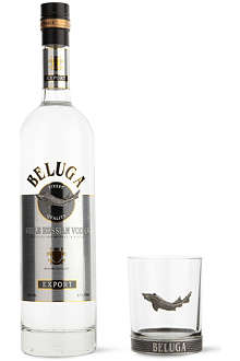 BELUGA Silver glass pack 700ml