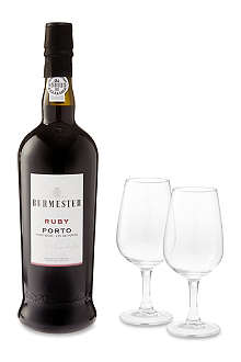 BURMESTER Port and glasses set 750ml
