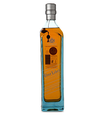 JOHNNIE WALKER Blue Label whisky Alfred Dunhill edition 700ml