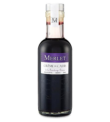 MERLET Crème de Cassis 200ml