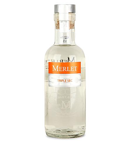 MERLET Triple Sec liqueur 200ml