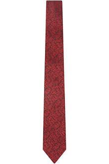 HUGO Mosaic print tie