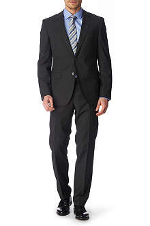 HUGO BOSS James Sharp suit dark grey