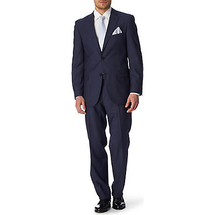 HUGO BOSS Pasini Movie suit (Blue