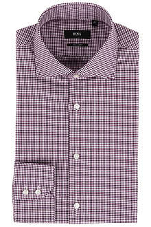 HUGO BOSS Gerald checked shirt