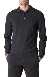 HUGO BOSS Knitted polo shirt