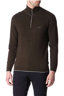HUGO BOSS Hobbs zip-neck jumper