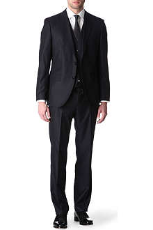 HUGO BOSS James Sharpe three-piece suit