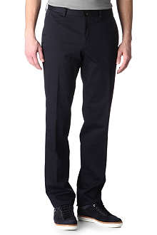 HUGO BOSS Stretch-cotton chinos