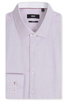 HUGO BOSS Juri slim-fit single-cuff shirt