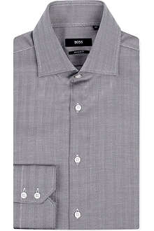 HUGO BOSS Gerald regular-fit double-cuff shirt