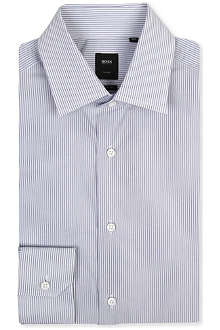 HUGO BOSS Stirling regular-fit single-cuff shirt