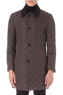 HUGO BOSS Diamond quilted jacket