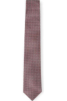 HUGO BOSS Diamond silk tie