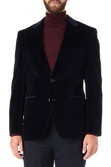 HUGO BOSS The Keys velvet blazer
