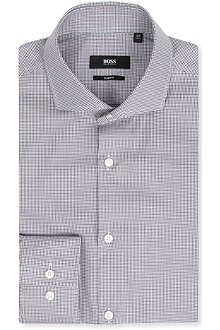 HUGO BOSS Jason slim-fit single-cuff shirt