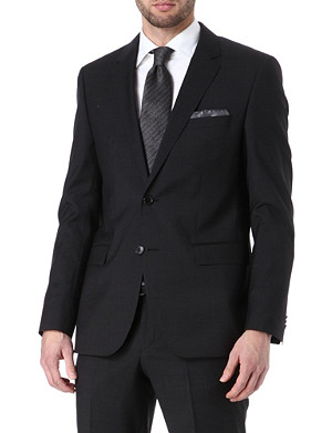 HUGO BOSS Rider wool-blend blazer
