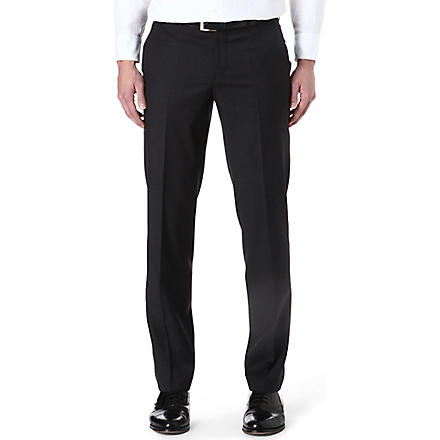 HUGO BOSS Wool suit trousers (Grey