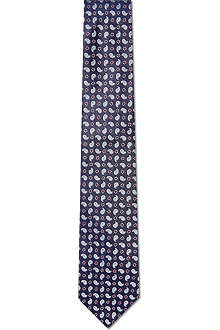 HUGO BOSS Mini paisley tie