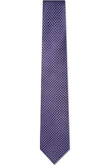 HUGO BOSS Micro dot tie