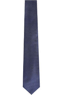 HUGO BOSS Micro dot silk tie