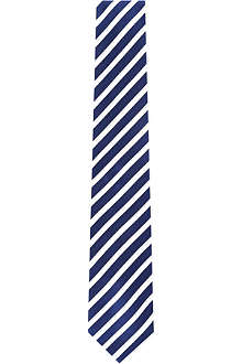 HUGO BOSS Bold striped silk tie