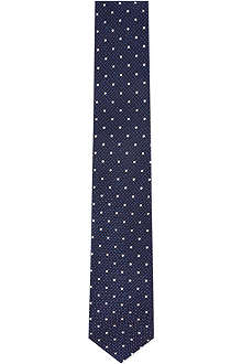 HUGO BOSS Polka dot silk tie