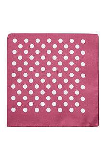 HUGO BOSS Silk pocket square