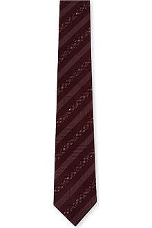 HUGO BOSS Mini polka dot stripe tie