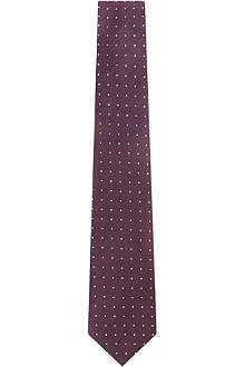 HUGO BOSS Mini polka-dot tie