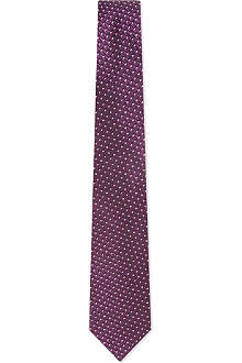 HUGO BOSS Mini triangles and squares tie