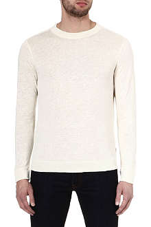 HUGO BOSS Abruzzi linen jumper