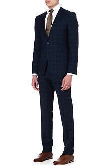 HUGO BOSS Checked suit