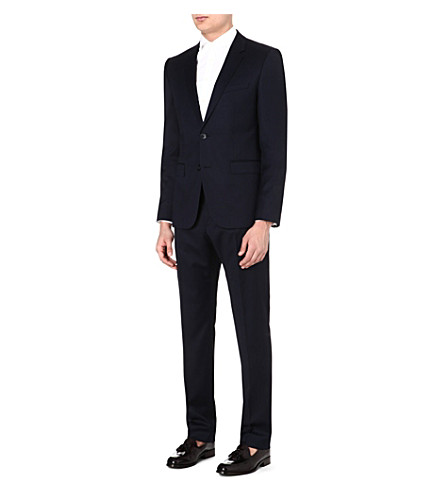 HUGO BOSS Aeron/Hamen wool suit (Navy