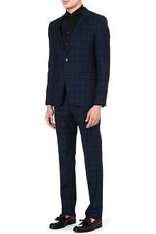 HUGO BOSS Aeron/Hamen checked suit