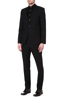 HUGO BOSS Aeron/Hamen wool-blend jacquard suit
