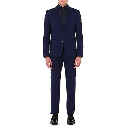 HUGO Aeron Hamen slim-fit wool suit (Navy