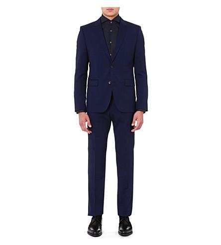 HUGO Aeron Hamen slim-fit wool suit (Navy