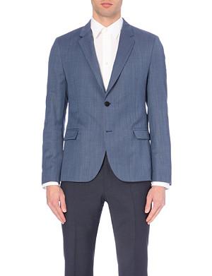 HUGO Single-breasted wool jacket