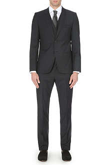 HUGO Arnot/Wenton slim-fit three-piece wool suit