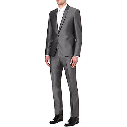 HUGO BOSS Avin Hacey suit (Grey