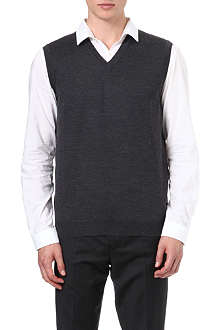 HUGO BOSS V-neck logo vest